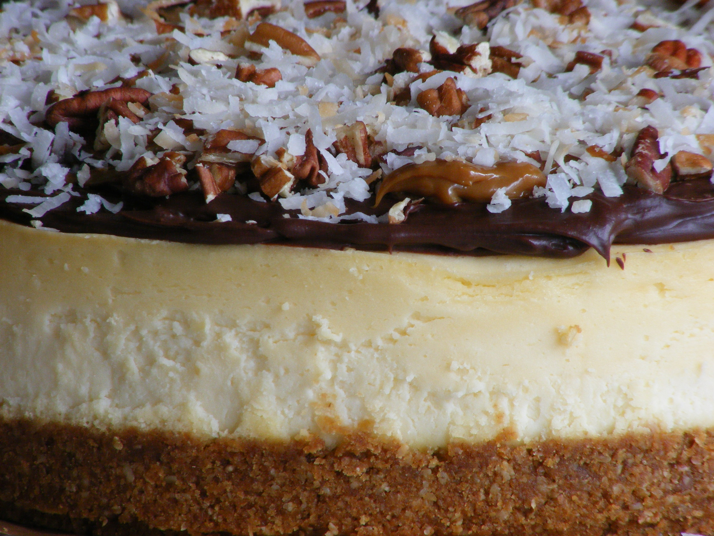 German chocolate cheesecake « The Mulberry Cook