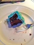 Chocolate liquorice cake