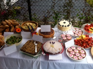 Food table