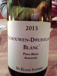 Pinot Blanc- Schouwen-Duivenland, Netherlands